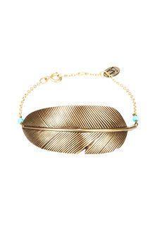 Bracelet Plume Eco Responsable
