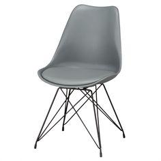 ڳŷԾۥ(DL44-3C GY) ˥ȥ ڸǼʡ 1ǯݾڡۡ˥ȥ Eames, Chair, Furniture, Home Decor, Decoration Home, Room Decor, Home Furnishings, Stool, Home Interior Design