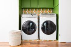 Hardworking Laundry Rooms