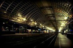 Centraal station Amsterdam.