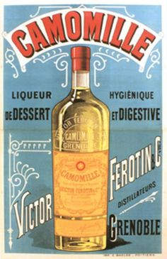 Liqueur Camomille, Victor Ferotin by Anonymous / 1900