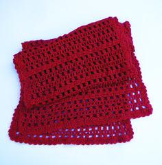 grande écharpe en crochet femme corail rouge modèle créateur unique 6c2e61877b4
