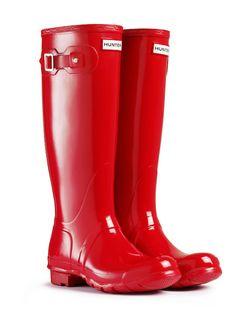 Original Rain Boots | Rubber Wellington Boots | Hunter Boot Ltd Pillar Box Red