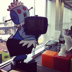 Nossa Rosie! (Janela Facetime - em tempo real com todos os escritórios!)