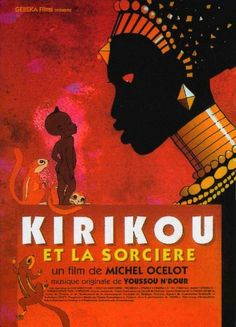 """""""Kirikou"""" by Michel Ocelot, one of several great French animations by him."""