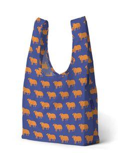 PrettyCoolBags einkaufsbeutel sheep baggu