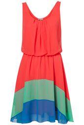 Topshop Chiffon Dress
