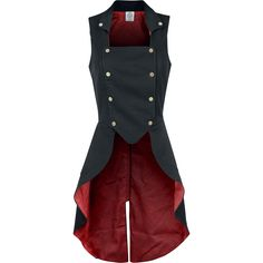 Through The Looking Glass - Hatter Made Dress - Vest by Alice In Wonderland