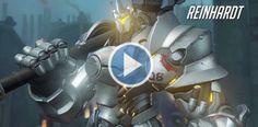 Overwatch añade al caballero robótico Reinhardt a su lista de personajes