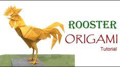 Origami Rooster Tutorial  (Satoshi Kamiya): Cómo hacer un Gallo en Origami Diseñado por Satoshi Kamiya  ========================================   Nivel de dificultad: avanzado (complex)  Papel recomendado: doble seda: 50cm x  50cm   Website: http://ift.tt/2dVCdlI Instagram: http://ift.tt/2e9Aq7U Flickr:  http://ift.tt/2dVCeGi  ========================================  Music: Acoustic Guitar Mariano Zavala B.