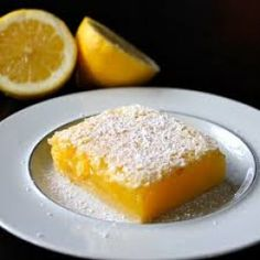 Buttery Lemon Olive Oil Squares Recipe