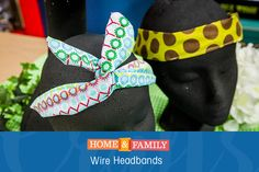 Wire Headbands -  No tie or bow needed to keep this secure! Both kid & parent approved, these headbands will be the easiest hair accessory you'll use all year!