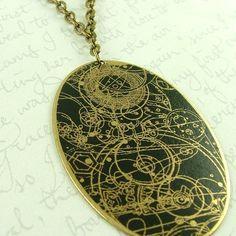 Gallifreyan necklace :)