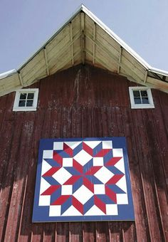 Get one for your home or garden! custombarnquilts@gmail.com