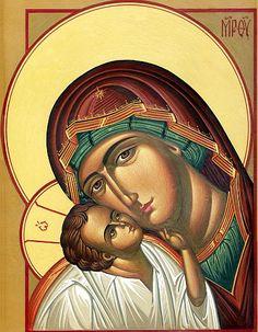 Religious Icons, Religious Art, Art Icon, Orthodox Icons, Blessed Mother, Madonna, Catholic, Princess Zelda, Marvel