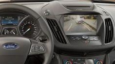 Ford Kuga centre console, rear-view camera