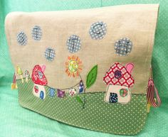 Stitch Applique Sewing Machine Cover pdf pattern by BustleandSew, $4.50