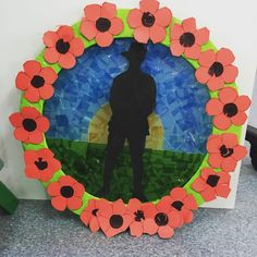 Our ANZAC Day wreath. #teachingpreppies #teachersofinstagram #anzac Poppy Craft For Kids, Art For Kids, Crafts For Kids, Remembrance Day Activities, Remembrance Day Poppy, Australia Day Craft Preschool, Preschool Crafts, Waitangi Day, Poppy Wreath