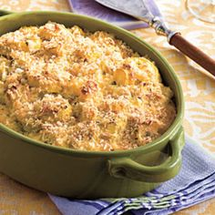Hearty Thanksgiving Casseroles: Two-Cheese Squash Casserole
