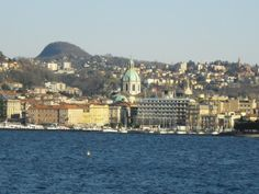 A stunning view of Como from the lake!