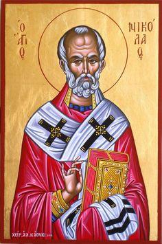 St. Nicholas by Alexandra Kaouki of Crete