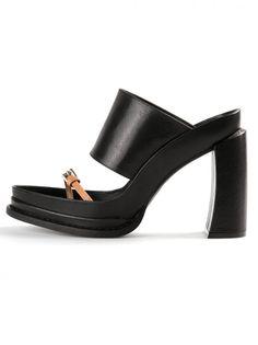 ANN DEMEULEMEESTER - Leather Sandal - 141-2807-342-099 - H. Lorenzo