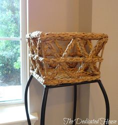 A close-up of the basket detail.  http://thededicatedhouse.blogspot.com/2013/05/my-little-shopping-spree.html