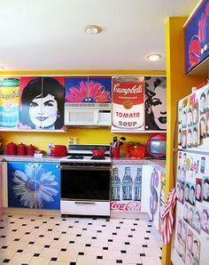 Pop art kitchen!