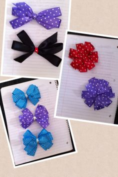 My Bows $3