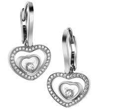 Happy Diamonds earrings by Chopard