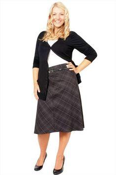 Plus Size Skirt, Plus Size Skirts, Denim Plus Size Skirt, Plus ...