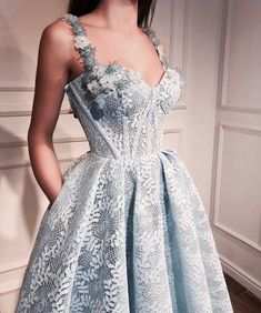 Imagem de dress, fashion, and blue