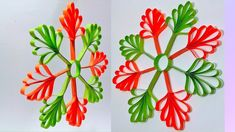 How to Make Paper Snowflakes for Christmas decorations - Snowflakes with paper Very Easy Crafts Paper Craft Making, How To Make Paper, Easy Crafts, Crafts For Kids, 3d Paper Snowflakes, Christmas Home, Quilling, Christmas Decorations, Paper Crafts