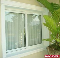 Dica do dia:  As janelas de alumínio são um produto resistente, livre de manutenção e que não necessita de repintura!