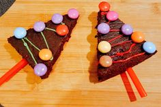 Brownie en sapin gourmand - Une maman puissance 4 Brownie, Xmas, Cake, Desserts, Food, Battle, Advent, Fir Tree, Greedy People