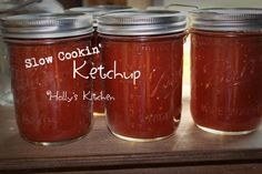 EASY way to Make Your own ketchup, So Much Healthier for you too!  ~ Slow Cookin' Ketchup ~  Recipe:  https://www.facebook.com/photo.php?fbid=10204670429500575&set=pb.1230907378.-2207520000.1409881068.&type=3&theater