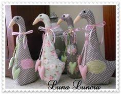 Luna Lunera: 159. Ocas sujetapuertas... ¡¡terminadas!!
