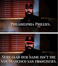 Brian Wilson SF Giants even if he isnt a giant anymore! Funny Me, Hilarious, Funny Stuff, Random Stuff, Just For Laughs, Just For You, I Love Him, My Love, Brian Wilson