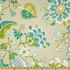P Kaufmann Indoor/Outdoor St.Thomas Seaglass - Discount Designer Fabric - Fabric.com