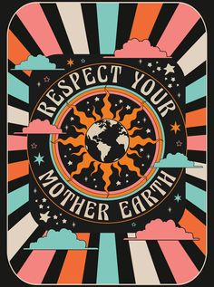 hippie life 93027548543024710 - Respect your mother earth bohemian bedroom tapestry Source by marineloiseau Bedroom Wall Collage, Photo Wall Collage, Collage Art, Wall Art, Picture Wall, Wall Mural, Room Posters, Poster Wall, Poster Prints