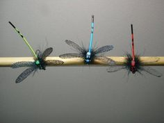 instructions for tying a realistic damsel fly