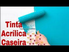 Priscila Menezes - YouTube Experiment, Pintura Exterior, Glue Art, Clay Tutorials, Diy Videos, Decoupage, Diy And Crafts, Make It Yourself, How To Make