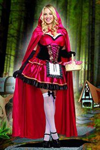 d73057d8d Full Figure Plus Size Costume Little Red Riding Hood