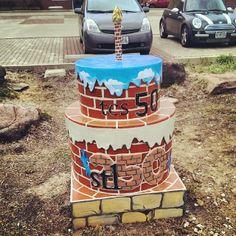 #stl250 the College School Birthday Cake