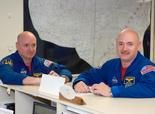 NASA science project will study TWIN astronauts: Scott Kelly on the space station for a year, compared to physio data of his brother Mark Kelly on Earth.