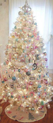 Christmas Tree ● Silver Pastel