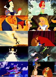 THE  Disney moments...and to think: Walt Disney originally didn't want to add the spaghetti scene...