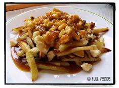 Poutine végétarienne de légumes racines avec sauce barbecue au miso | Full vedge - Recettes végétariennes et gourmandes!