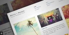 Download and review of Brick + Mason: Premium Photography and Blog Theme, one of the best Themeforest Creatives themes