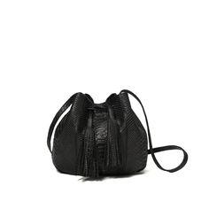 """Zofia Chylak - Small Bucket Bag """"python"""" 540 zł"""